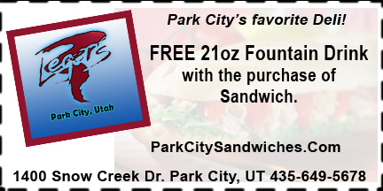 FREE 21oz Fountain Drink Coupon at Leger's Park City